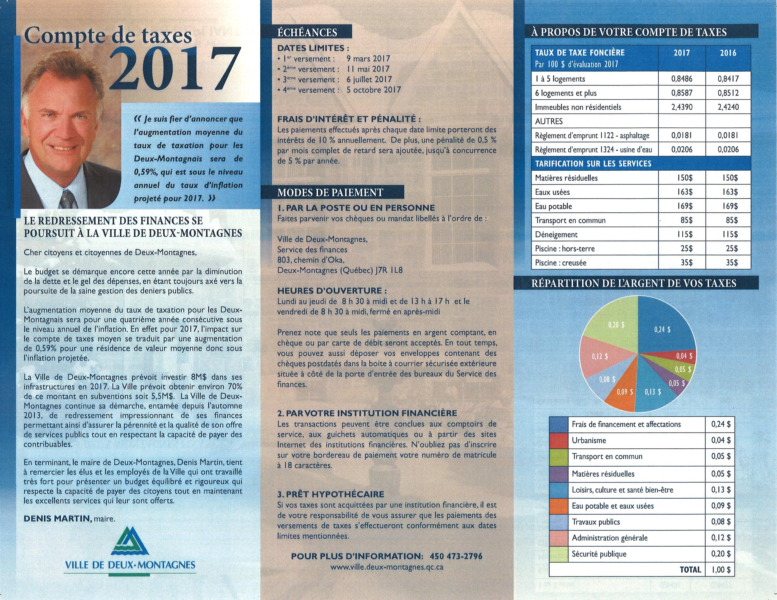 dépliant taxes 2017- FR