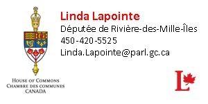 Logo et nom Linda Lapointe
